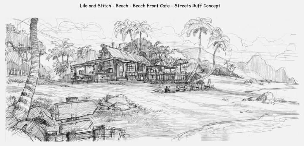Lilo_And_Stitch_Beach_Beach_Front_Cafe_Ruff_Concept