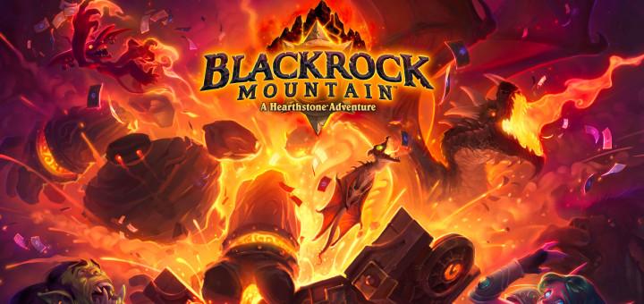 Blackrock Mountain Hearthstone Logo