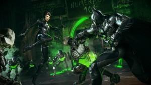 Catwoman and batman gameplay batman arkham knight