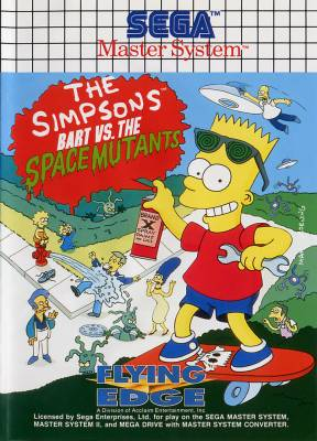 Artwork Bart VS The Space Mutants