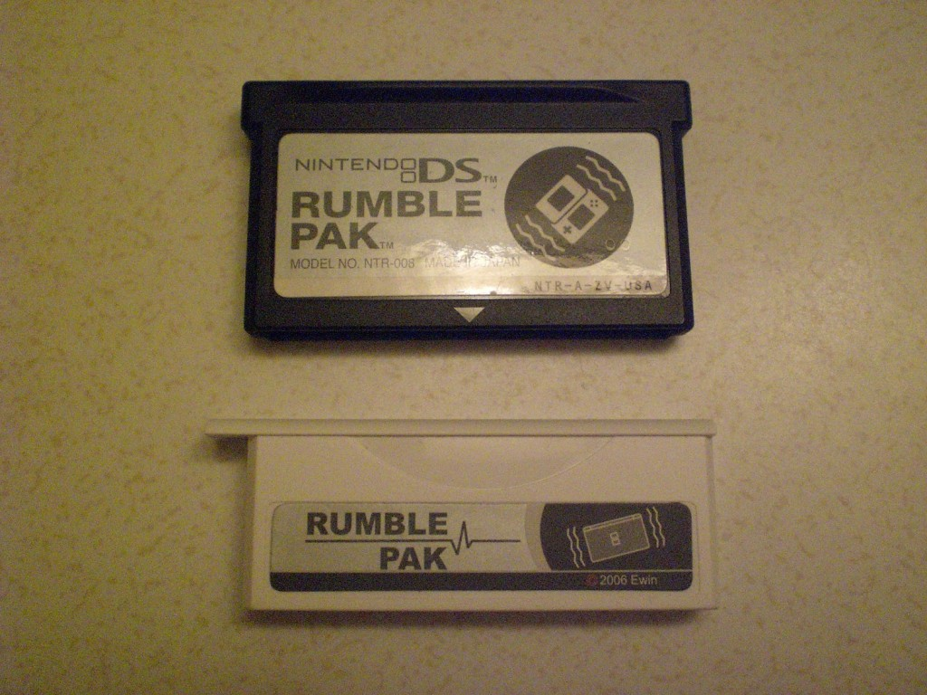 Nintendo DS Rumble pack