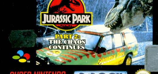 Jurassic Park Part 2 Cover