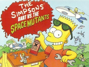The Simpsons bart vs the space mutants image
