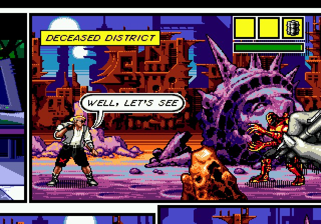 Comix Zone Screen