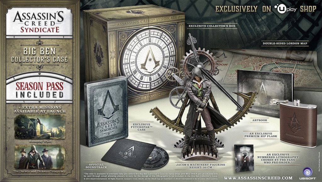Assassin's Creed Syndicate Big Ben Collector's Case