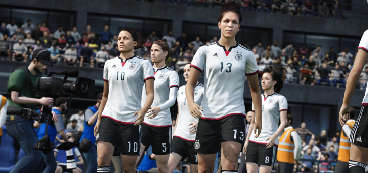 FIFA 16 with Womens National Teams
