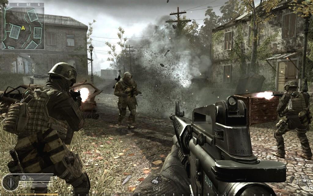 FPS Call of Duty 4 Modern Warfare