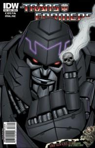 Megatron IDW Comics