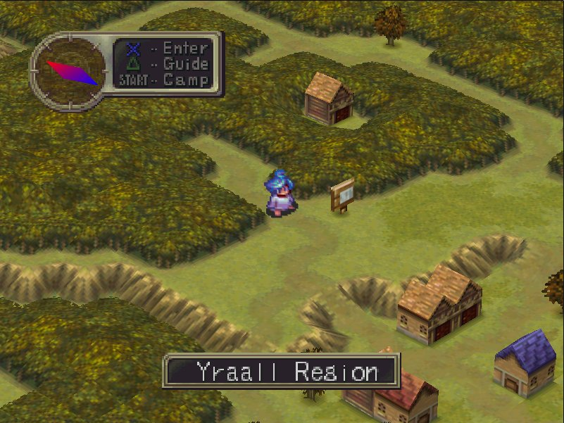 Breath of Fire 3 Gameplay