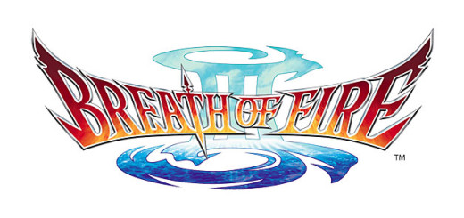Breath of Fire III 3 logo