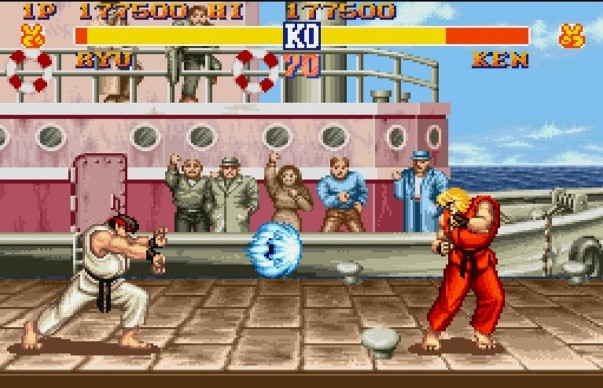 Street Fighter 2 Vs Mortal Kombat