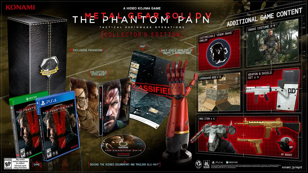 Metal gear Solid V Collector's Edition