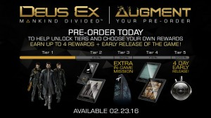 Deus Ex Mankind Divided Pre-order