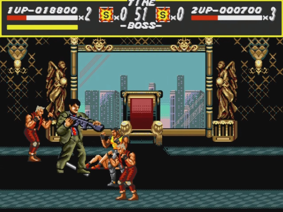 Streets of Rage Gameplay Final Boss