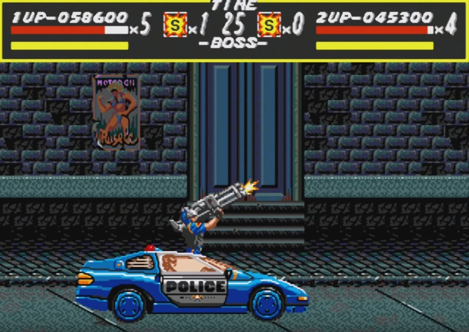 Streets of Rage Gameplay Special Attack