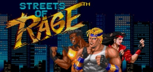 Streets of Rage Retro Rant header