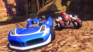 Sonic All Starts racing Transformed