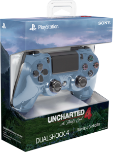 Limited Edition Controller Uncharted 4 Gray Blue