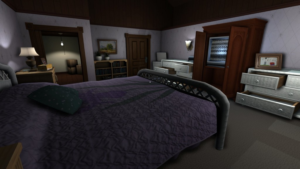 Gone Home image walking