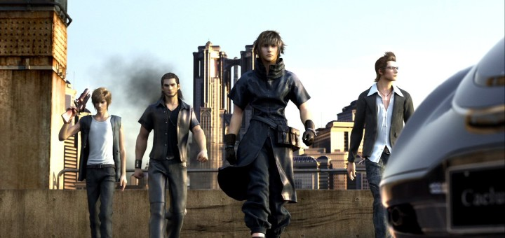 Final Fantasy XV Versus XIII Original Cast